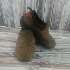 Gap Cow Suede Slip On Shoes Size 11